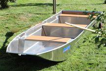 Barque aluminium / Barque de pêche Barque en aluminium Barque soudée Barque artisanale