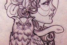 TATOOS ♥ / It is about interesting tatoos