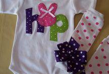 DIY baby girl clothing