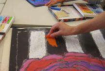 art classes / art teaching, projects