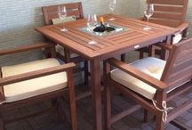 Garden Furniture / Garden furniture - benches, tables and chairs etc
