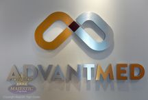 Interior Office & Lobby signs / Lobby signage and other interior business signs play a very significant role in the branding and message of your business. First impressions are everything and your office sign sets the precedent for the overall impression your business gives.  We specialize in branded lobby signs, as well as ADA compliant signage.