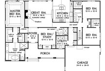 house plans / by Tanya Bacon