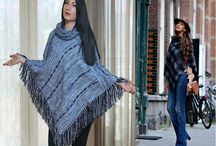 Outfits with ponchos / Fashion