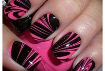 Розово-черный