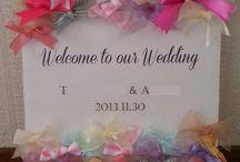 結婚式受付アイディア