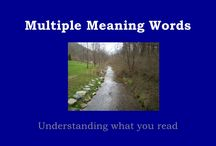 Multiple meaning and myths / by Holly Sills