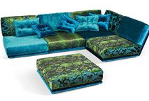 Chillin / Furniture, pillows, throws and rugs. / by Eccentrically Yours