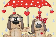 Umbrella Animals