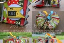 Scrap...Minis-Smashbooks-Journals / by Jenifer Fleming