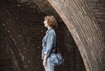 DENIM COLLECTION / Upcycled bags made from old jeans by Numon