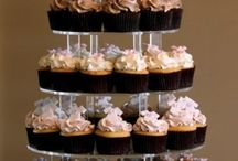 baby shower cupcake tower / baby shower cupcake tower