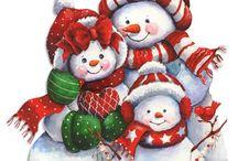 snowman prints / by Lori Matson