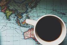 Coffee Cups, Shops, and Tea Cozies. / Coffee and Tea Photography