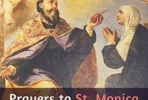 St Monica please pray for my children