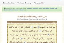 Quran Verses and Topics / Browse Holy Quran by Surahs, Verses, Topics, Translations, Reciters and PDF