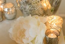 Silver, Gilver, and Shiny / Nisie's Enchanted Florist shines with silver, gold, and gilver! Got to love things that shine!