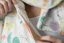 шитье дорожных шарфов