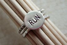 SportyGirl Running Jewelry / Sportygirljewelry.com jewelry.  Sports inspired jewelry to show off your passion for fitness and exercise