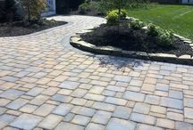 Nicolock Driveways / Create a beautiful driveway with Nicolock! With our custom Paver-Shield™ technology, Nicolock's driveway designs are sure to create your driveway dream come true!