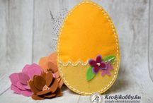 Húsvéti ötletek / Easter diy crafts / Sizzix vágósablon ötletek, húsvétra