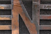 Letter Love / Alphabet, Letters, Design, Vintage