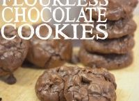 flourless Coke and cookies