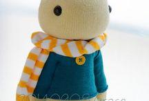 Sock Toy / Чулочная игрушка.