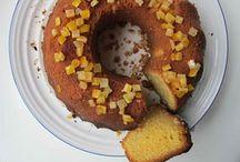 sticky orange cake