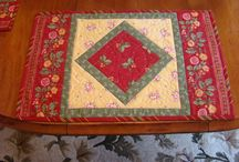 Place Mats - Table Runners / by Janie Breon