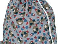 Children's Laundry Bags / Tidy those dirty clothes into a very pretty bag!