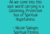Nicole Salinger Writer - Inspirational Quotes / Inspirational Quotes