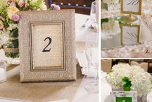   wedding table numbers   / A selection of our favourite ideas for wedding table numbers. If you like some of these why not browse our collection of wedding table numbers for sale  http://www.theweddingofmydreams.co.uk/collections/wedding-table-numbers-holders