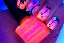 Neon party ideas / by Ginny Solis