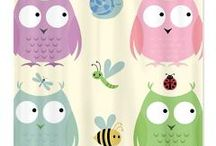 Kids Home Decor / Original Pattern Designs by Drape Studio used to create Fun  Home Decor designs just for Kids - Baby, Toddler, Tweens.  Beautifully coordinated products to make decorating a child's room a cinch!