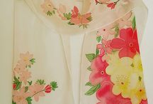 Velena_batik / мои шарфы