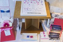 Guest book ideas / Don't want the simple guest book album? Then have a look in here for some ideas.