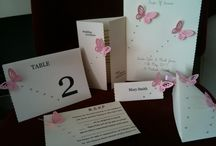 Wedding Invitations and Stationery / A selection of the many ranges of wedding invitations and stationery available to buy on our online marketplace