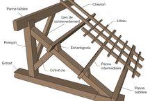 Charpente/Couverture de toit