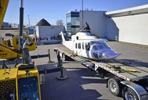 Sikorsky Delivery / The arrival of our new S-76A straight from Sikorsky!