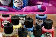 Painting / Eszközök amelyek a munkához kellenek.
