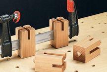 Nástroje na prácu s drevom