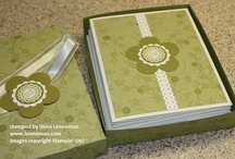 Card Set Ideas / by Laurie Graham: Avon Rep/Stampin' Up! Demo