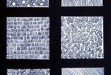 beeldend - textuur