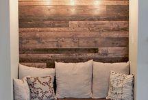 RAC room= wooden couchs