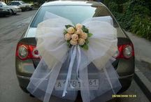 wedding. car