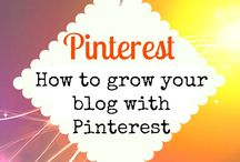 PINTEREST | BLOGGERS / Tips and ideas for how bloggers can best use Pinterest to grow their blog reach and engage with your audience