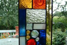 Stained glass transoms etc