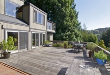 14 Bay Tree Lane, Mill Valley - $1,675,000 / Built in 1969 by the original owner/architect and featured in Sunset magazine, this home is ideal for those who enjoy the outdoors. Just minutes from downtown at the end of a cul-de-sac in the coveted Country Club neighborhood, this peaceful home on 1/2+ acre features a private redwood forest and access to hiking trails just out the front door! This unique 3+ bed/3 bath home is architecturally designed to maximize light and openness with large 3-story picture windows. www.14baytree.com / by Mary and Diane Tee # 01am