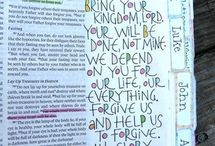 FAITH // bible journaling / I write in my Bible!